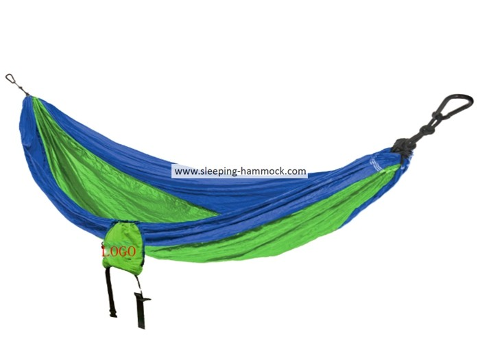 Royal Neon Green Avalanche Portable Parachute Nylon Hammock For Two Person 198 X 266 Cm