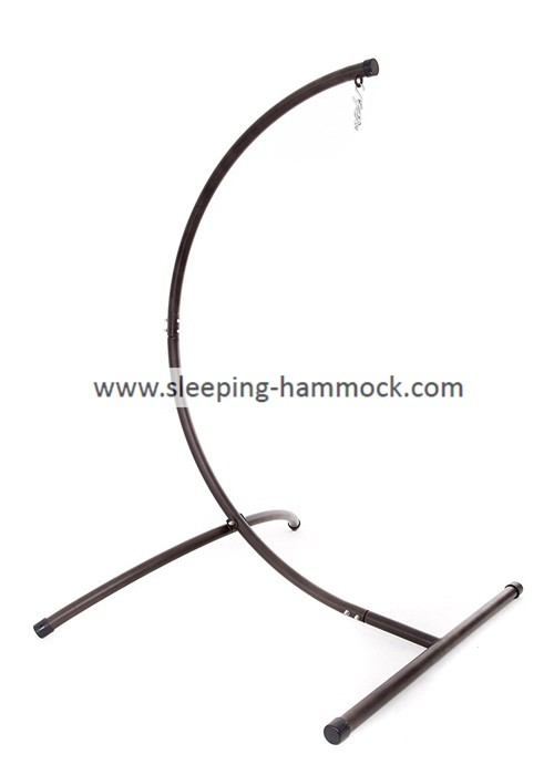 Indoor Outdoor Bronze  C Frame For Hanging Chair 450 Pounds Weight Capacity