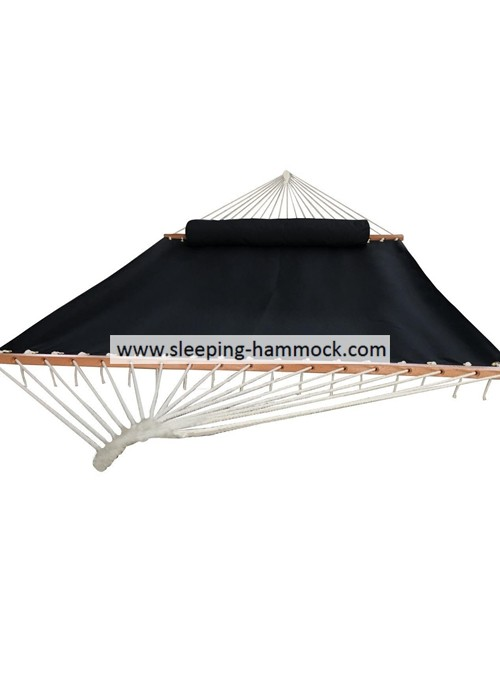 Weather Resistant Two Person Sleeping Hammock With Matched Long Pillow Quick Dry